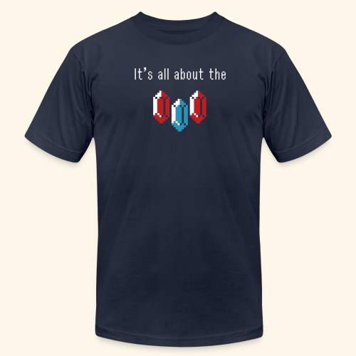 It's all about the rupees - Men's Fine Jersey T-Shirt