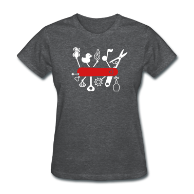 Swiss Army Knife for Lovers Women's T-Shirts
