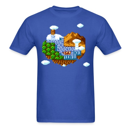 Flying island - Men's T-Shirt
