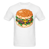 T-Shirts ~ Men's T-Shirt ~ Cheeseburger