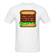 T-Shirts ~ Men's T-Shirt ~ Burger