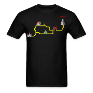 T-Shirts ~ Men's T-Shirt ~ Map