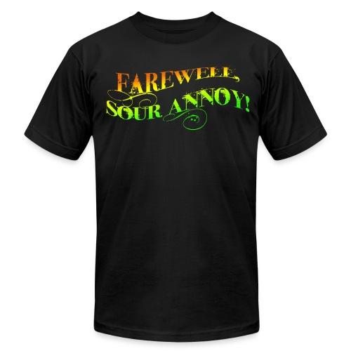 Sour Annoy - Men's (citrus font) - Men's  Jersey T-Shirt