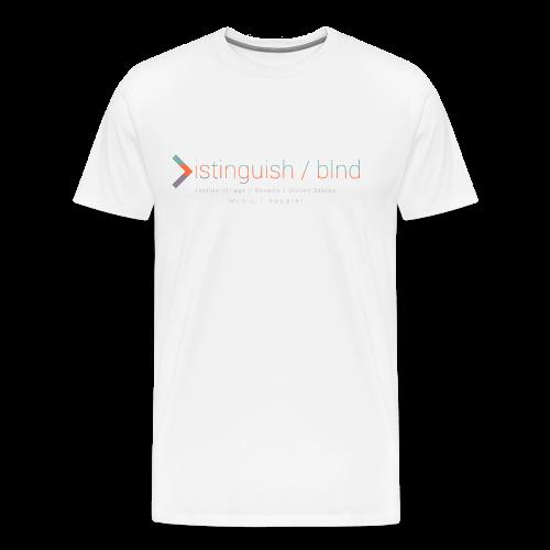 Distinguish x Blnd Collab - Men's Premium T-Shirt