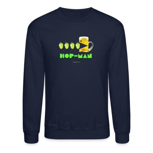 Hop Man Men's Crewneck Sweatshirt - Crewneck Sweatshirt