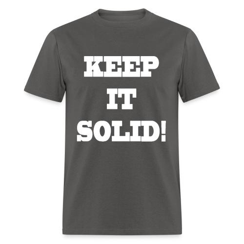Men's Keep It Solid! T-Shirt - Men's T-Shirt