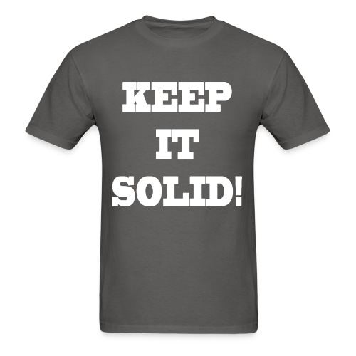 Men's Keep It Solid! T-Shirt - Men's T-Shirt