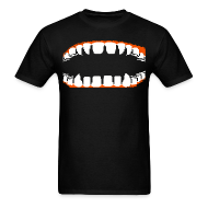T-Shirts ~ Men's T-Shirt ~ Fangs