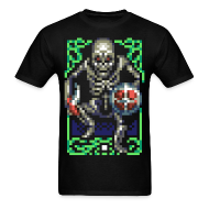 T-Shirts ~ Men's T-Shirt ~ Skeleton Attack