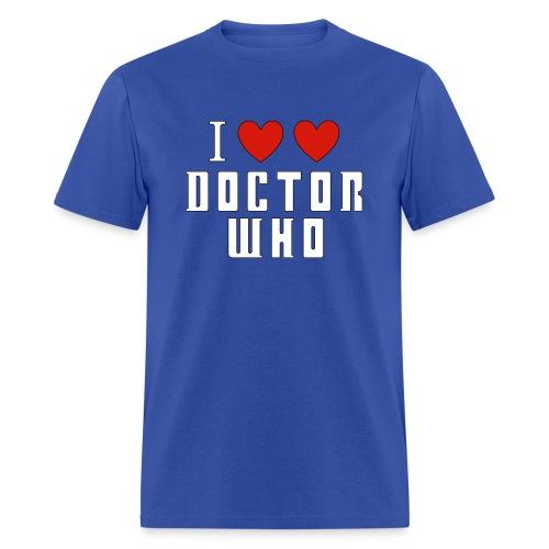 I Love Dr. Who - Men's T-Shirt