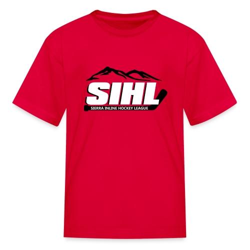 SIHL Youth T-Shirt Red w BW Logo - Kids' T-Shirt
