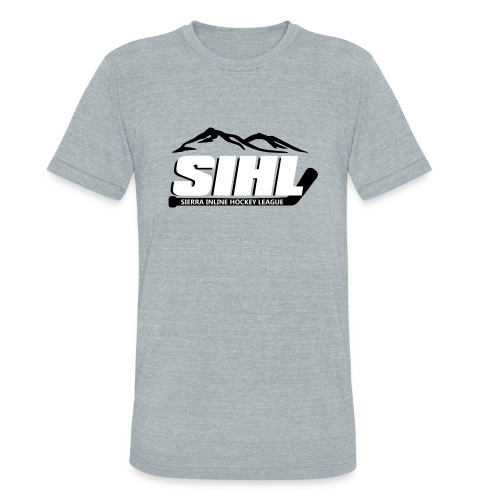 SIHL Tri-Blend T-Shirt Grey w BW Logo - Unisex Tri-Blend T-Shirt