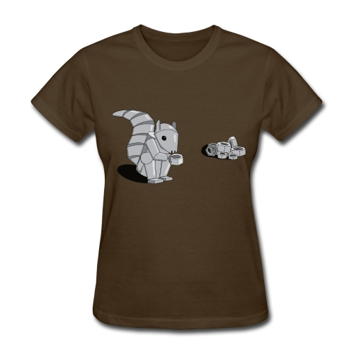Robot Squirrel (women's) - Women's T-Shirt