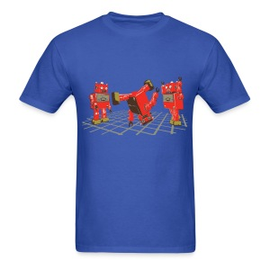 Robot Dance Party - Men's T-Shirt