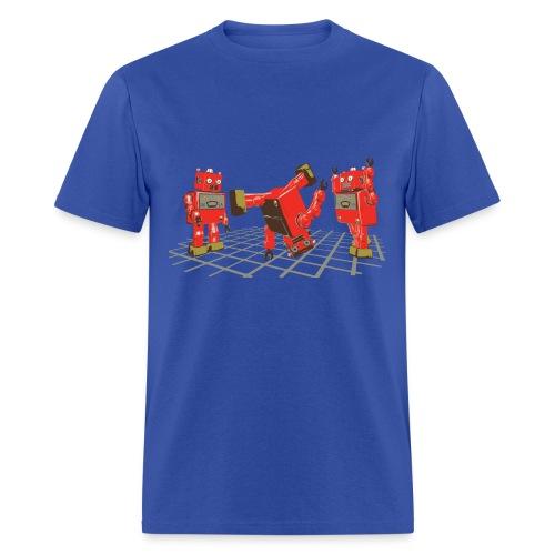 Robot Dance Party - Men's T-Shirt
