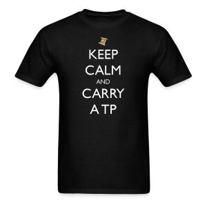 Keep Calm and Carry a TP - Men's T-Shirt