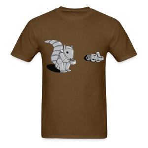 Robot Squirrel - Men's T-Shirt