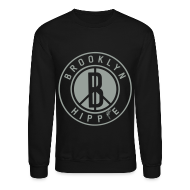 Long Sleeve Shirts ~ Crewneck Sweatshirt ~ Brooklyn Hippie Sweatshirt