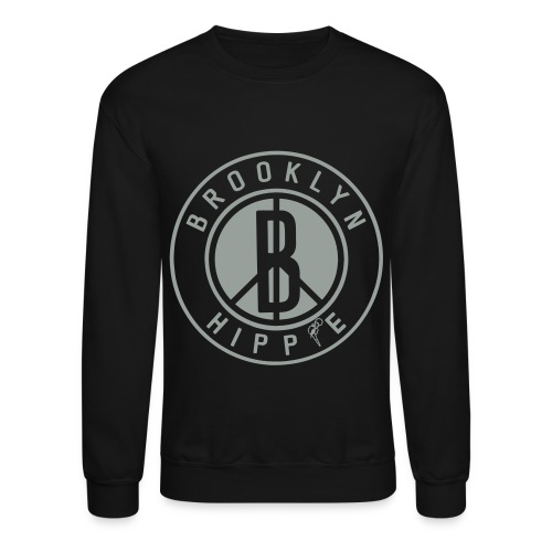 Brooklyn Hippie Sweatshirt - Crewneck Sweatshirt