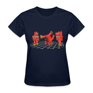 Robot Dance Party (women's) - Women's T-Shirt