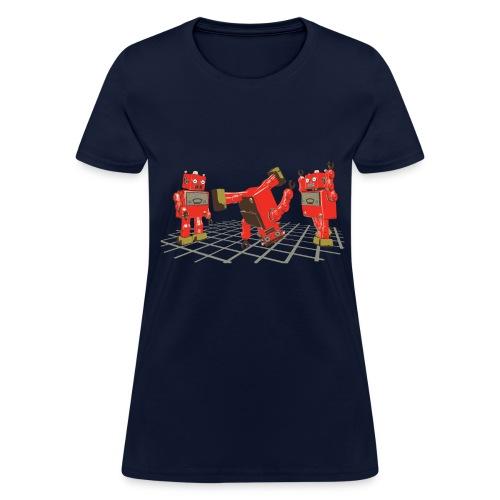 Robot Dance Party (women's) - Women's T-Shirt