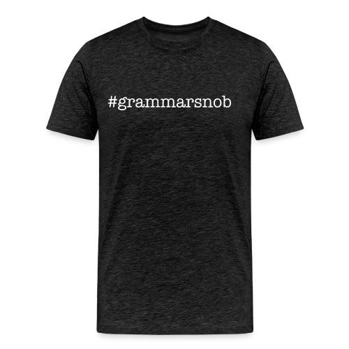 #grammarsnob Men's Tee - Men's Premium T-Shirt