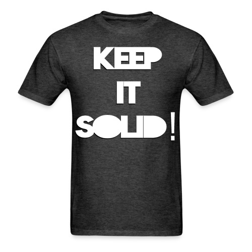 NEW! Men's Keep It Solid! T-Shirt - Men's T-Shirt