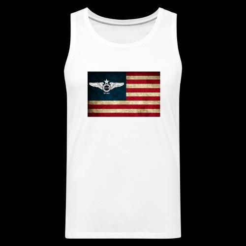 Flight Club: USA - Men's Premium Tank