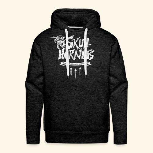 Skull Hornets - Men's Premium Hoodie