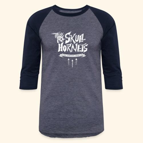 Skull Hornets - Baseball T-Shirt