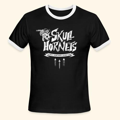 Skull Hornets - Men's Ringer T-Shirt