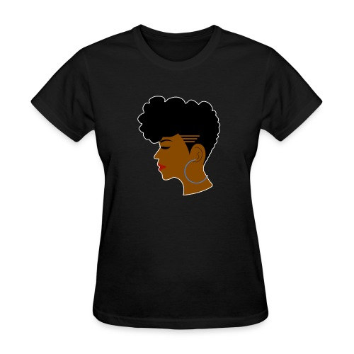Afro Shaved Sides - Women's T-Shirt