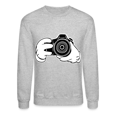 Gloved Hands Snapshot (Vectored) Long Sleeve Shirts
