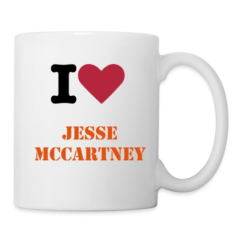 i love jesse mccartney mug - Coffee/Tea Mug