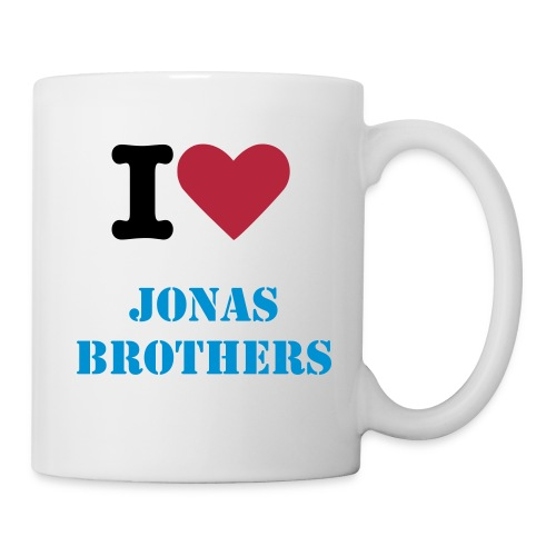 i love jonas brothers mug - Coffee/Tea Mug