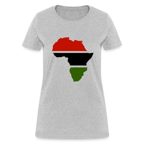 Africa Continent Shape - Women's T-Shirt