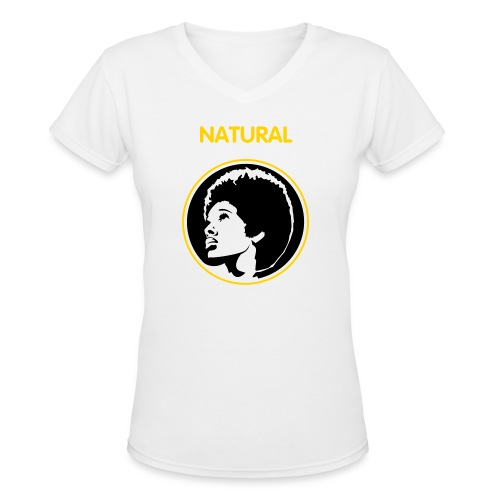 BEAUTY  - Women's V-Neck T-Shirt