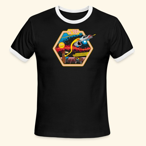 LaserBlast - Men's Ringer T-Shirt