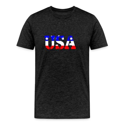 USAts USA stars stripes - Men's Premium T-Shirt
