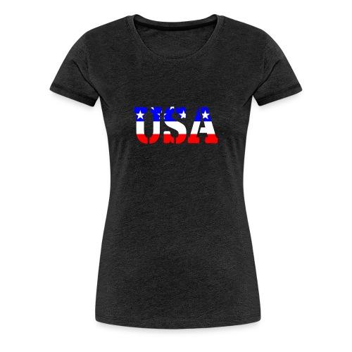 USAts USA stars stripes - Women's Premium T-Shirt