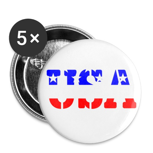 USAts USA stars stripes - Buttons small 1'' (5-pack)