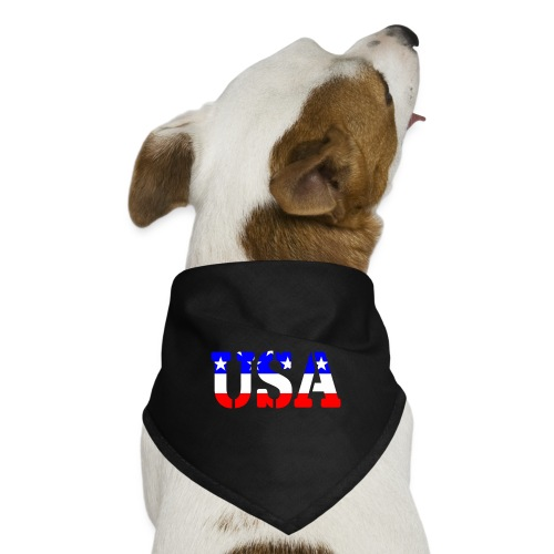 USAts USA stars stripes - Dog Bandana