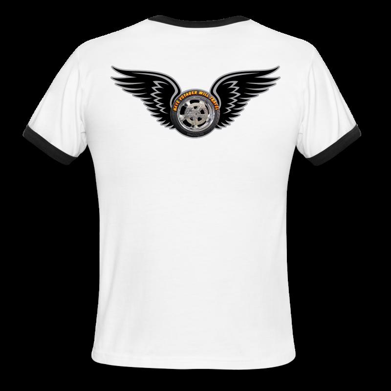 Men's L/W Ringer T-Back-HwingVoy - Men's Ringer T-Shirt