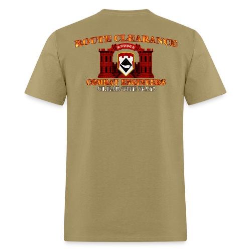111th En Bde - RC Sapper Back Only - Men's T-Shirt