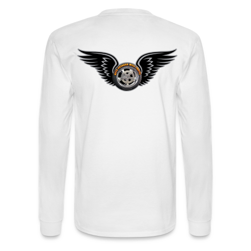 Men's LS Hanes Tee- Back-HwingVoy - Men's Long Sleeve T-Shirt