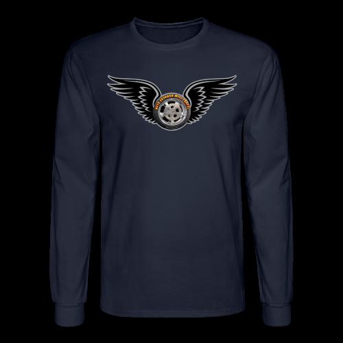 Men's LS Hanes Tee- Front-HwingVoy - Men's Long Sleeve T-Shirt