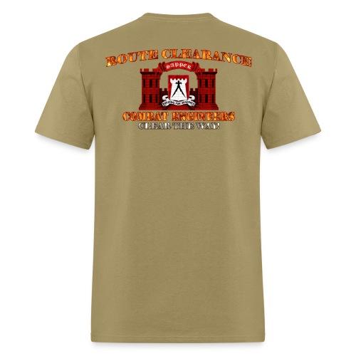891st En Batt - RC Sapper Back Only - Men's T-Shirt