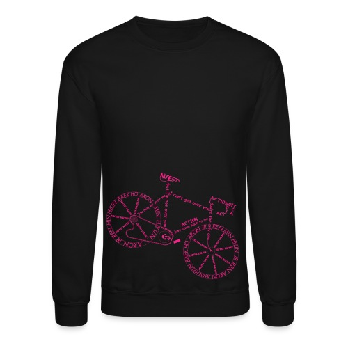 Action Bicycle - Crewneck Sweatshirt