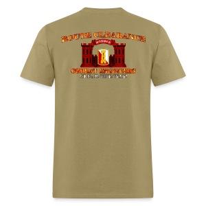 168th En Bde - RC Sapper Back Only - Men's T-Shirt