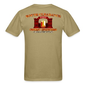 168th En Bde - RC Sapper Back Only - Men's T-Shirt